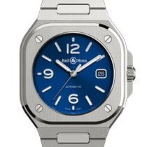 Bell & Ross BR 05 BR05A-BLU-ST/SST new