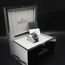 Zenith El Primero Chronomaster pre-owned 42mm Grey Chronograph Date Leather