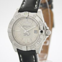 Breitling Galactic 32 Steel 32mm Mother of pearl No numerals