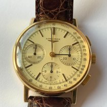 Longines pre-owned Manual winding 36mm Champagne Plexiglass