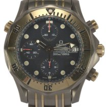 Omega Titanium Automatisch Blauw tweedehands Seamaster Diver 300 M