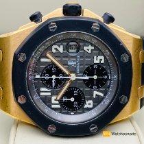 Audemars Piguet Royal Oak Offshore Chronograph Oro rosa 42mm Negro Arábigos España, Torrelavega