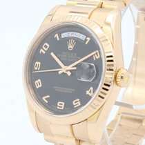 Rolex Day-Date 36 Rose gold 36mm Pink Arabic numerals