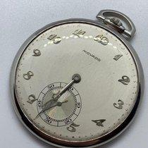 Movado Platinum Manual winding Movado platinum pocket watch 950 pre-owned
