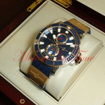Ulysse Nardin Maxi Marine Diver new Automatic Watch with original box and original papers 265-90-3/93