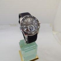 Cartier Calibre de Cartier Diver Acier 43.5mm Noir Romains