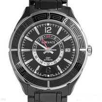Versace Ceramic Automatic Black 42mm new