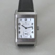 Jaeger-LeCoultre Reverso Grande Taille occasion 26mm Argent Cuir