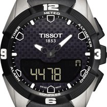 Tissot Quartz Black 45mm new T-Touch Expert Solar