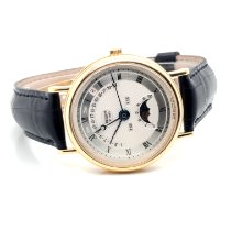 Breguet Classique Complications Yellow gold 36mm Silver Roman numerals United States of America, New York, New York