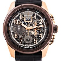 Jaeger-LeCoultre Master Compressor Extreme LAB 2 Tribute to Geophysic Rose gold 46.8mm Transparent