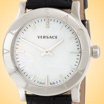 Versace Otel 33mm Cuart VQA050017 nou