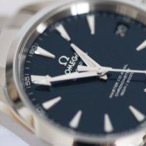 Omega Seamaster Aqua Terra Steel 38.5mm Blue No numerals