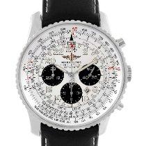 Breitling Navitimer Cosmonaute Steel 41.5mm Silver Arabic numerals