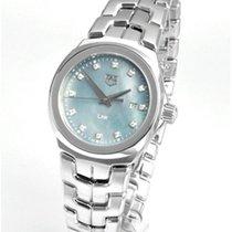 TAG Heuer Link Lady neu Quarz Uhr mit Original-Box und Original-Papieren WBC1313.BA0600