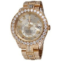 Rolex Sky-Dweller Rose gold 42mm Grey Roman numerals United States of America, New York, NEW YORK CITY