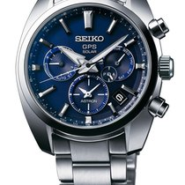 Seiko Astron GPS Solar Steel Blue United States of America, Ohio, USA