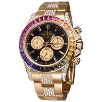 Rolex 116595RBOW Rose gold Daytona 40mm pre-owned United States of America, New York, NEW YORK CITY