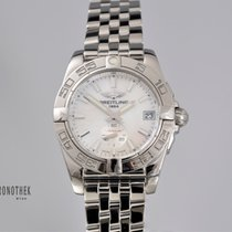 Breitling Steel Automatic Mother of pearl 36mm pre-owned Galactic 36