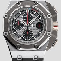Audemars Piguet Royal Oak Offshore Chronograph Titanium 44mm Black No numerals United States of America, New York, New York