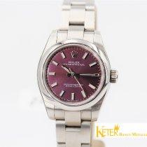 Rolex Oyster Perpetual 26 Acciaio 26mm Violetto Arabo Italia, Roma