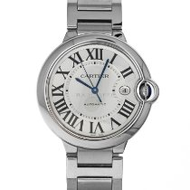 Cartier Ballon Bleu 42mm Steel 42mm Silver Roman numerals United States of America, Maryland, Baltimore, MD