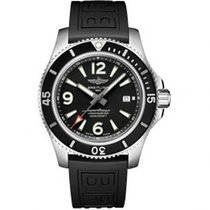 Breitling Superocean 44 Steel 44mm Black Arabic numerals United States of America, Pennsylvania, Holland