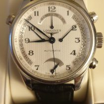 Longines Master Collection Steel 41mm White Arabic numerals