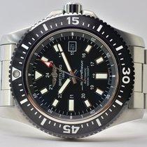 Breitling Superocean II 44 Acero 44mm Negro Árabes