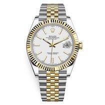 Rolex Datejust Gold/Steel 41mm White No numerals United States of America, New York, New York