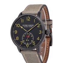 Ulysse Nardin Marine Torpilleur pre-owned 43.5mm Black Leather