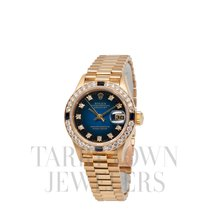 勞力士 Lady-Datejust 黃金 26mm 藍色