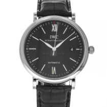 IWC Portofino Automatic Steel 40mm Black United States of America, Maryland, Baltimore, MD