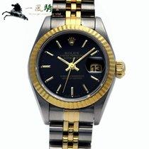 Rolex Lady-Datejust Stål 26mm Sort