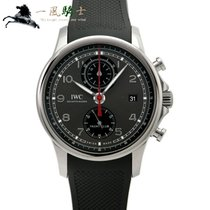 IWC Portuguese Yacht Club Chronograph Staal 43.5mm Grijs