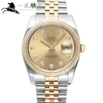 Rolex 116233G Steel 2012 Datejust 36mm pre-owned