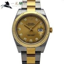 Rolex 126333G Steel 2016 Datejust 41mm new
