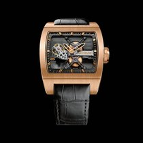 Corum Ti-Bridge Ruzicasto zlato 42mm
