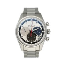 Zenith El Primero Original 1969 Steel 38mm Silver United States of America, New York, New York