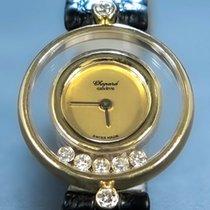 Chopard Happy Diamonds Chopard happy diamonds Bardzo dobry Żółte złoto 24mm Kwarcowy