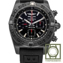 Breitling Chronomat 44 Blacksteel Acero 44mm Negro