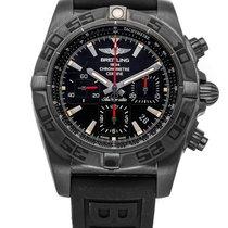 Breitling Chronomat 44 Blacksteel Сталь 44mm Черный