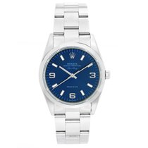 Rolex Air King Precision Steel 34mm Blue Arabic numerals United States of America, Texas, Dallas
