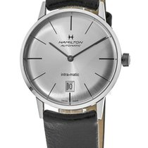 Hamilton Intra-Matic Steel 38mm Silver United States of America, New York, Brooklyn