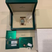 Rolex Or rose Remontage automatique Vert 40mm occasion Day-Date 40