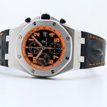 Audemars Piguet Royal Oak Offshore Chronograph Volcano Сталь 42mm Чёрный
