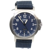 Oris pre-owned Automatic 42mm Blue Sapphire crystal 10 ATM
