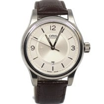 Oris Classic Steel 42mm Silver Arabic numerals United States of America, New York, New York