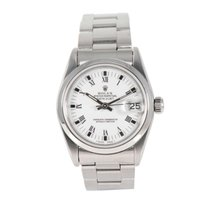 Rolex Datejust pre-owned 31mm White Date Steel