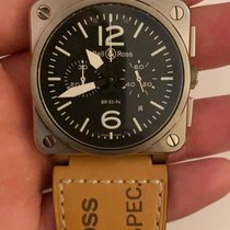 Bell & Ross BR 03-94 Chronographe BR03-94-S 2016 pre-owned